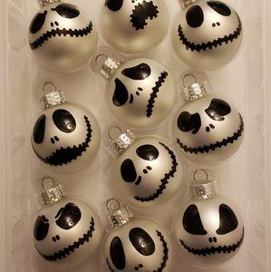 Jack Skellington 10 Piece Mini Ornament Set